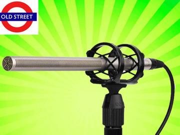 Udlejer: Rode NTG 3 Shotgun Mic + Microphone clip + Case