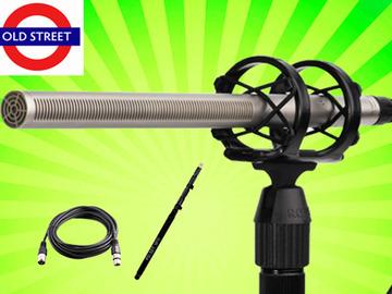 Udlejer: Rode NTG 3 Shotgun Mic + Microphone clip + Case + Boom Pole