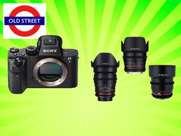 Udlejer: Sony A7sii + 3 x Cine Prime Lens Kit
