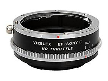 Udlejer: Vizelex Variable ND Throttle Lens Adapter - EF to E Mount