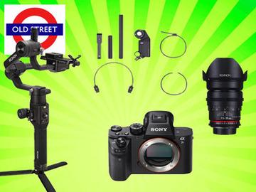 Udlejer: Ronin S + A7sii + Cine Lens + Focus Motor Follow Focus