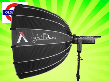 Udlejer: Aputure 300d + Softbox + Fresnel + Stand