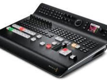 Lender: Image mixer BMD Atem Television Studio with HDSDI, HDMI and