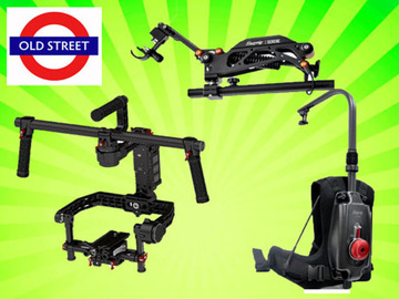 Udlejer: EasyRig + Serene Arm + Ronin (Full Size + Extension Arms)