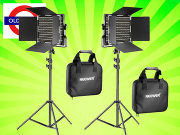 Udlejer: Portable Continuous Lights LED 660 Bi-color Video / Film x 2