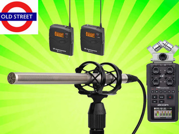 Udlejer: Pro Audio External Recording Kit (NTG3 + Zoom H6 + G3 Lav)