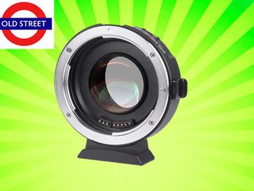 Udlejer: Viltrox EF-M2 II Lens Mount Adapter 0.71x EF to MFT