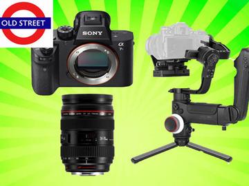 Udlejer: Sony A7sii + Canon 24-70mm f2.8 Lens + Zhiyun Crane 3 LAB