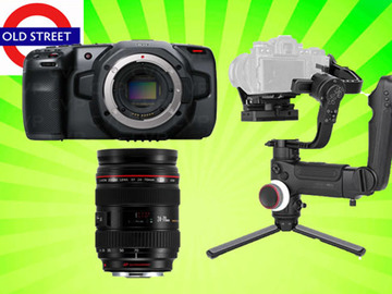 Udlejer: Blackmagic Pocket 4k (BMPCC 4k) + Any Lens + Zhiyun Crane 3