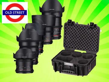 Udlejer: Samyang Cine Lens 5x Kit