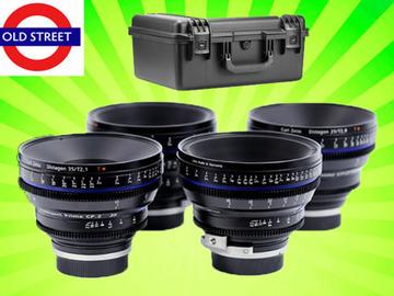 Udlejer: Zeiss CP.2 Cine Lens Set (PL/EF/E Mount)