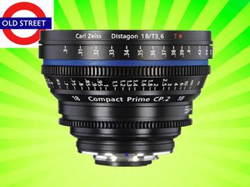Udlejer: Zeiss CP 18mm T3.6 Lens (EF/ PL mount)