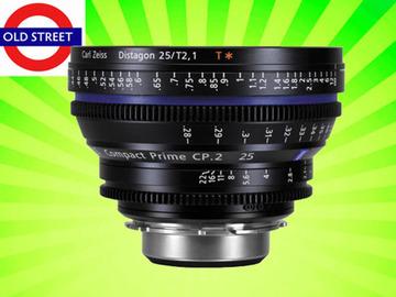 Udlejer: Zeiss CP.2 25mm T2.9 Lens (PL/EF/E Mount)