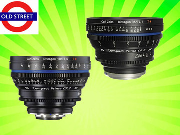 Udlejer: Zeiss CP.2 35mm + 18mm Lens Combo (PL/EF/E Mount)