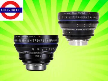 Udlejer: Zeiss CP.2 25mm + 50mm Lens Combo (PL/EF/E Mount)