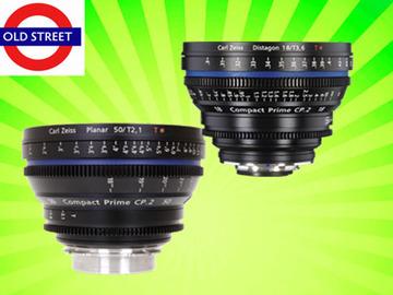 Udlejer: Zeiss CP.2 18mm + 50mm Lens Combo (PL/EF/E Mount)
