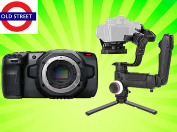 Udlejer: Blackmagic Pocket Cinema 6k + Zhiyun Crane 3 LAB Gimbal