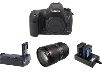Lender: Canon 5d MkIII (Mk3) w/ Canon 24-105 mm IS II Lens