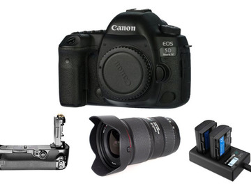 Lender: Canon EOS 5D MkIV Camera, Canon 16-35mm f/4L IS II USM Lens