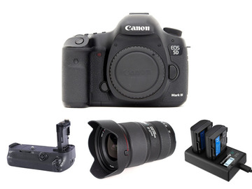 Lender: Canon EOS 5d MKIII Camera w/ Canon 16-35mm f4L IS Lens