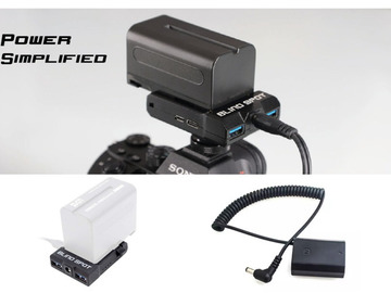 Lender: Power Solution for Sony Cameras | Power Junkie
