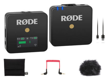 Lender: Rode Wireless GO Compact Wireless Mic System Rode Lav Lap
