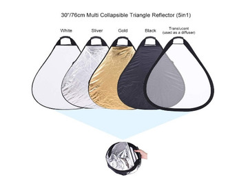 Lender: 5 in 1 Collapsible Reflector