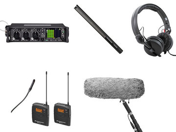 Lender: Sound devices 633 met 1 zender