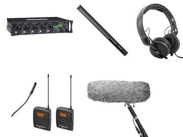Lender: Sound devices 552 met 1 zender