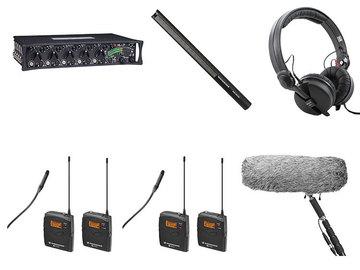 Lender: Sound devices 552 met 2 zenders