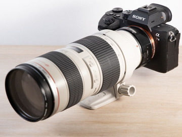 Lender: Sony A7 III Mirrorless Camera 4K+Metabones Canon EF