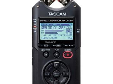 Udlejer: Tascam DR 40 Lyd Recorder