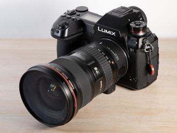 Lender: Panasonic Lumix DC - S1 Mirrorless Digital Cine Camera + V-L