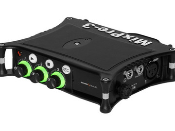 Udlejer: Sound Devices MixPre-3 II Audio Field Recorder/Mixer/Preamp