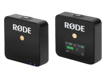 Udlejer: RØDE Wireless Go Compact Wireless Radio Mic System Lav Mic