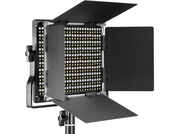 Udlejer: Bi-color LED Video Light Bardoor U Bracket 3200-5600K CRI 96