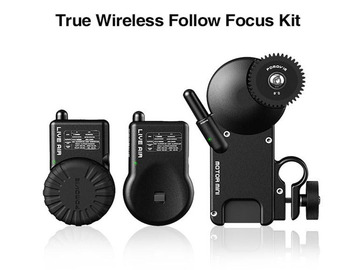 Udlejer: PDMOVIE LIVE AIR Wireless Follow Focus Lens Controller Kit