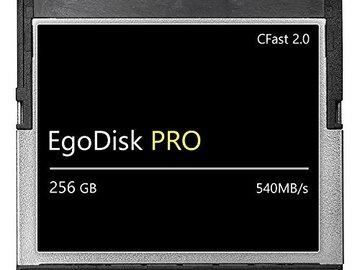 Lender: EGOdisk 256 GB CFast Card + Reader