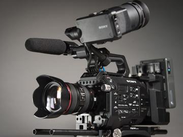 Udlejer: Lej et Sony FS7 ready-to-go setup med optik