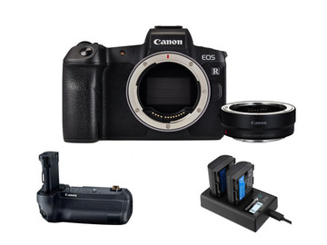 Lender: Canon EOS R Camera w/ EF Adaptor | 4K Mirrorless