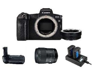 Lender: Canon EOS R Mirrorless Camera w/ Sigma 35mm f/1.4 DG HSM Art