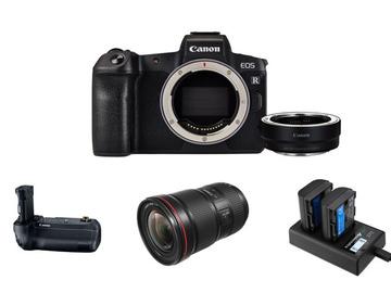 Lender: Canon EOS R Mirrorless Camera w/ EF 16-35 mm f/2.8L III USM
