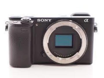 Lender: Sony Alpha 6300