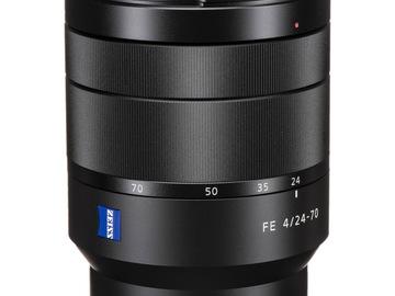 Lender: Sony FE 24-70mm f/4.0