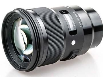 Lender: Sigma 50mm f/1,4 DG HSM Art til Sony E-mount