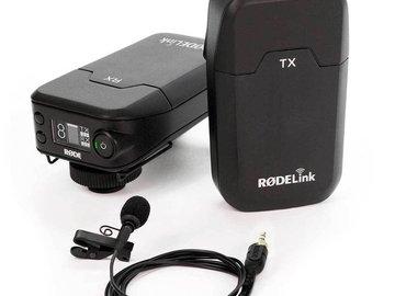 Lender: Røde Link Filmmaker Kit, Microport