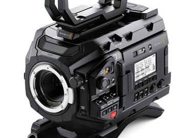 Lender: Blackmagic kamerapakke (UDEN objektiver