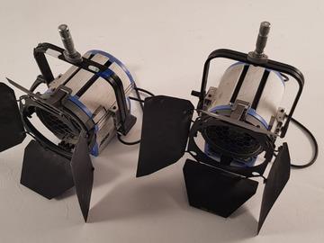 Lender: 2x Arri 2K 2000w Watt Fresnel T2 Light Tungsten