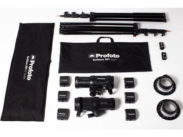 Lender: 2x Profoto B1 500w AirTTL Location Flash Kit & 6x Batteries