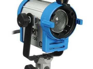 Lender: ARRI 150-Watt Tungsten Fresnel Light (120 VAC)